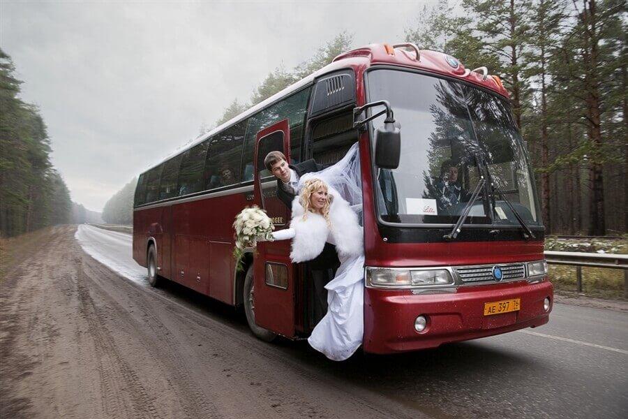 Снять автобус на свадьбу